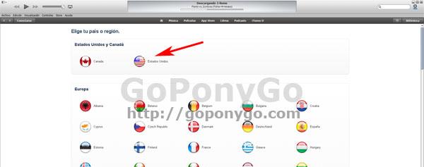 Cómo crear una ID de Apple en la iTunes Store americana