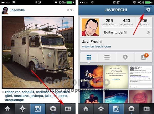 Deshabilitar la reproducción automática de los videos en Instagram