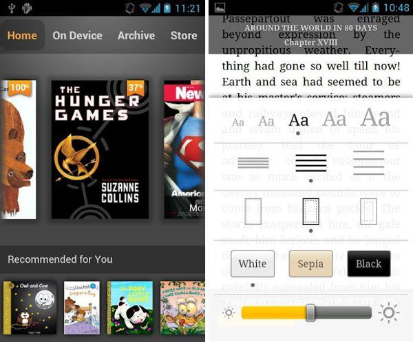 Lectores de libros electrónicos en Android