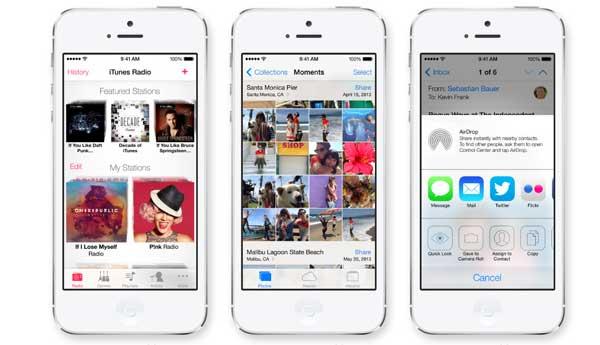 iOS 7: Recopilatorio de novedades del sistema operativo de iPhone y iPad