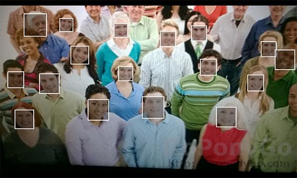 Elección de los mejores rostros dentro de fotografías en grupo