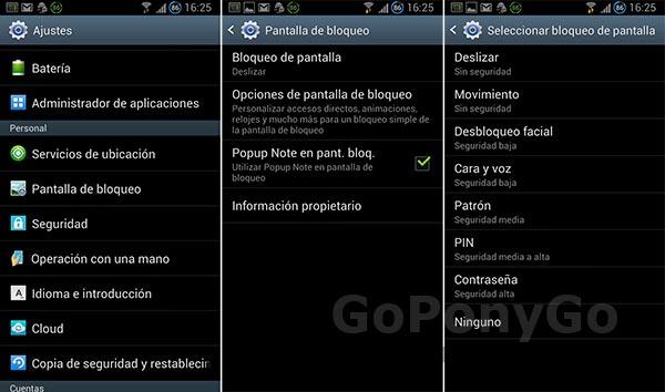 Cómo editar las pantallas de bloqueo de la gama Samsung Galaxy