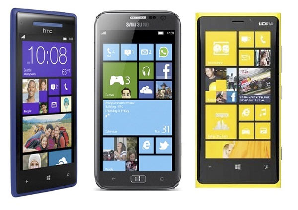 3 ofertas de móviles con Windows Phone 8 de Nokia, Samsung y HTC