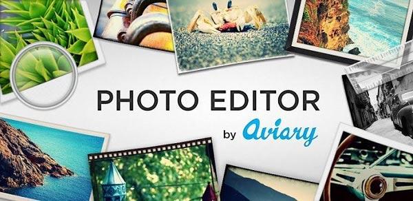 Photo Editor de Aviary
