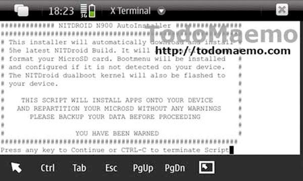 Manual de instalación de Android Froyo en el N900