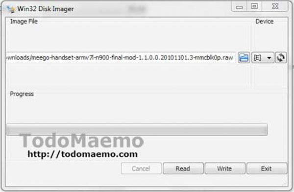 Instalar MeeGo en el N900 con arranque dual