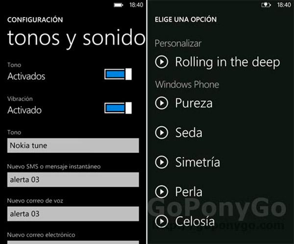 Cómo agregar nuevos tonos en los Nokia Lumia con Windows Phone