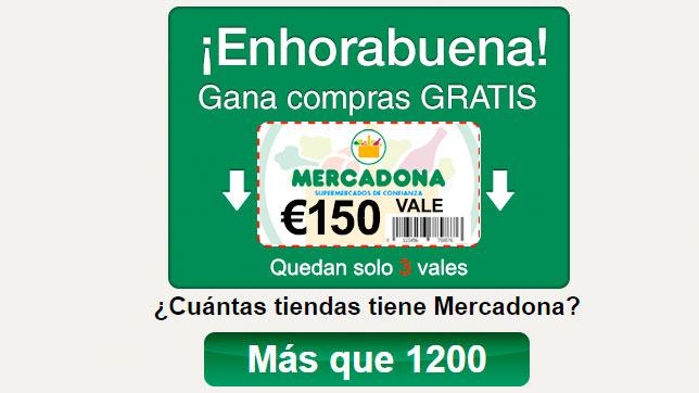 WhatsApp regala cheques para Mercadona, LiDL...
