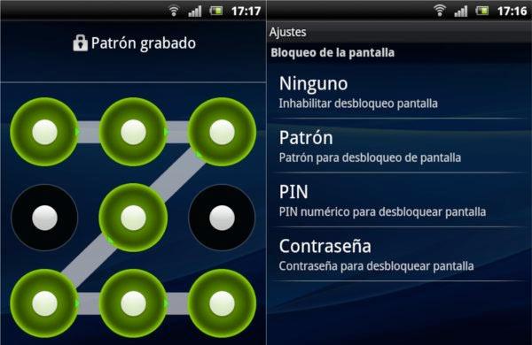 Cómo solucionar problema con patrón de desbloqueo en Android