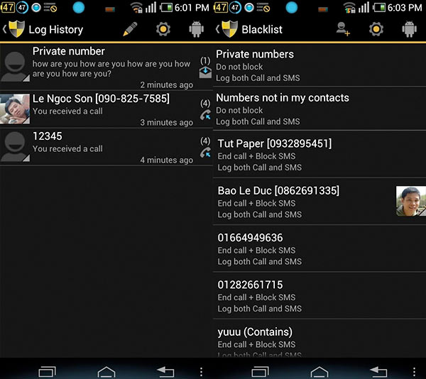Cómo bloquear llamadas de un número de teléfono en Android
