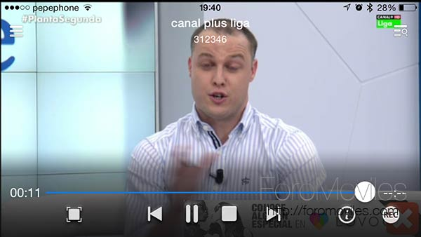 Live Media Player para iOS