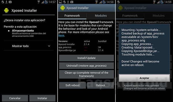 Xposed Framework para Android