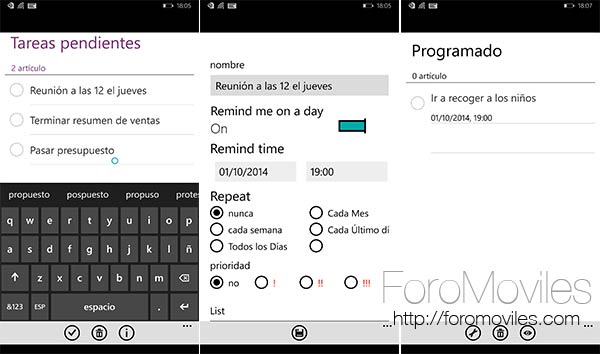 Las mejores aplicaciones para gestionar tareas en Android, iOS y Windows Phone