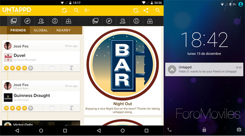 Untappd para Android
