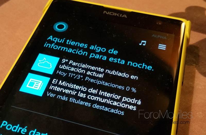 Cómo instalar Cortana en español en cualquier Windows Phone 8.1