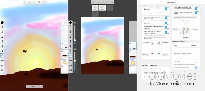Dibujar con iPad