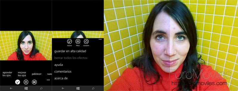 Análisis Lumia 735