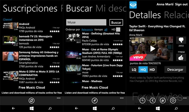 Servicios de Google en Windows Phone