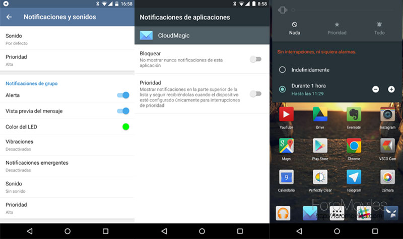 Notificaciones en Lollipop