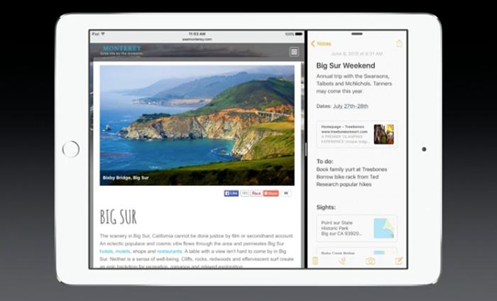 Pero iOS en iPad es ahora más interesante