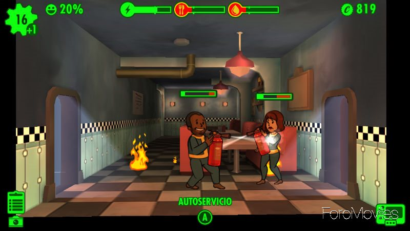 Accidente Fallout Shelter