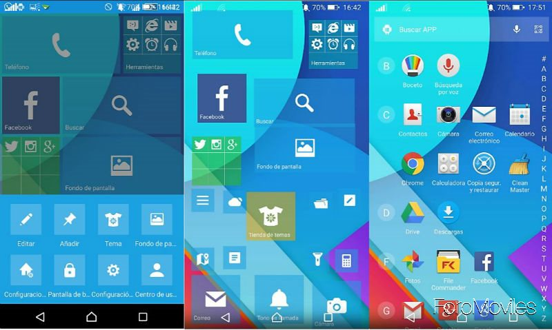 Launcher WP Launcher Android