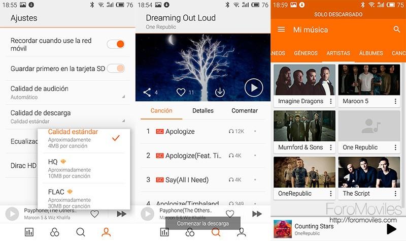 Cómo descargar música gratis en Android con esta app de Meizu