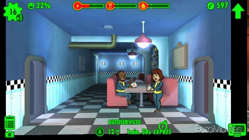 Habitación Fallout Shelter