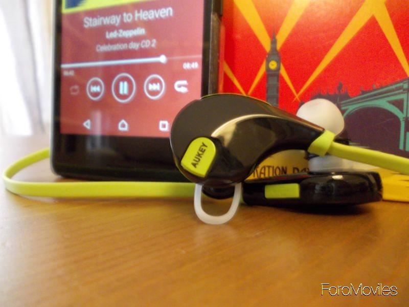 Auriculares Aukey Reproducción de Música