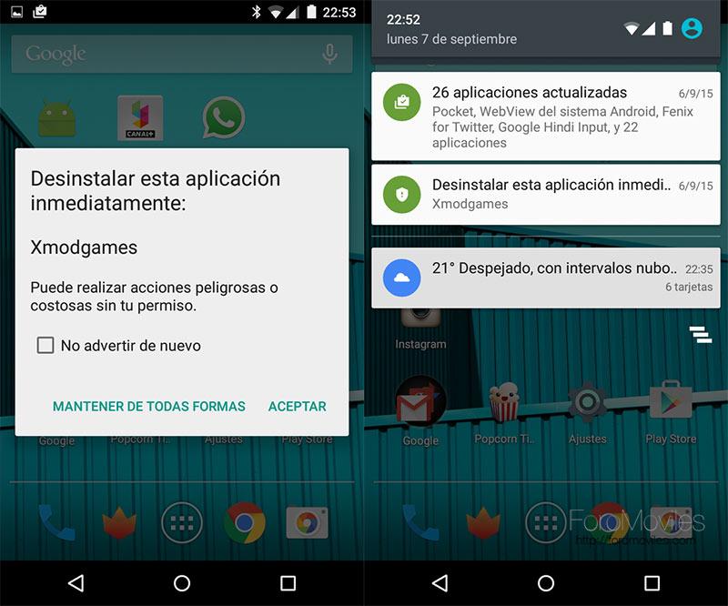 Google y la seguridad en Android