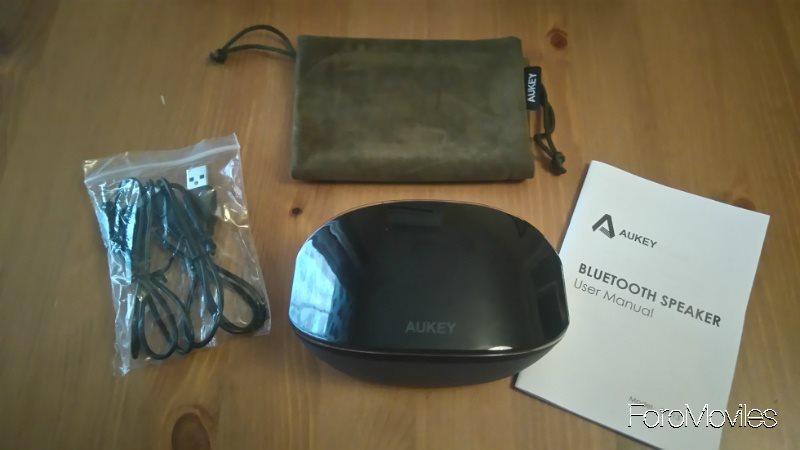 Altavoces Aukey Unboxing