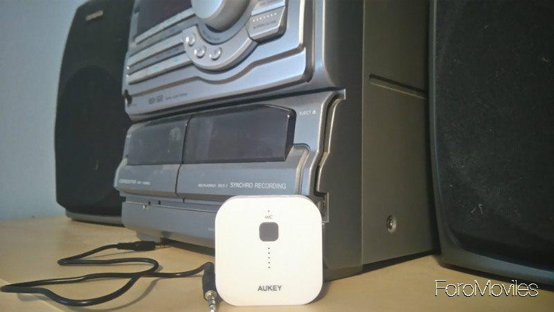 Aukey Receptor de Audio Cadena