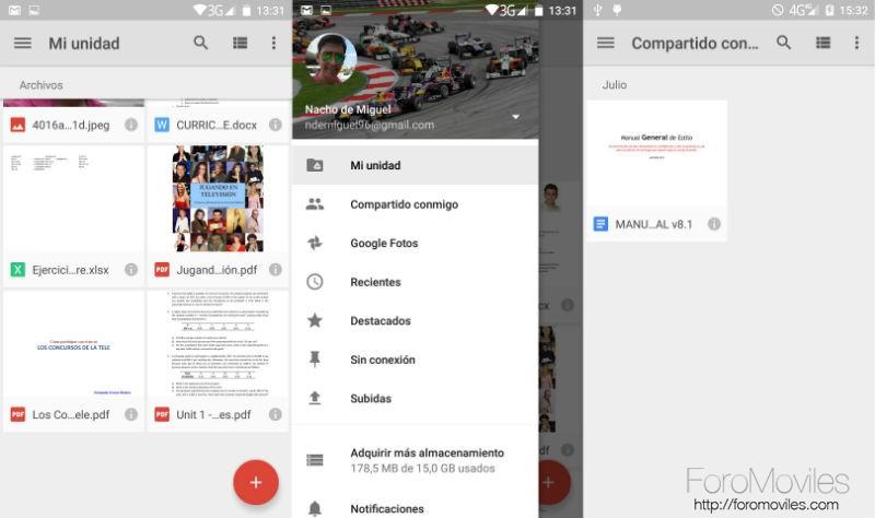 Guía Google Drive Archivos Compartidos