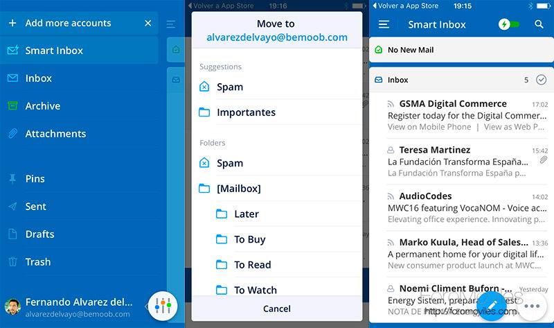 Spark para Android: 4 motivos por los que lo quiero