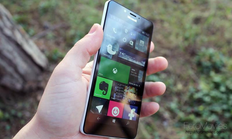 Análisis del Microsoft Lumia 950, un Windows 10 para móviles excelente