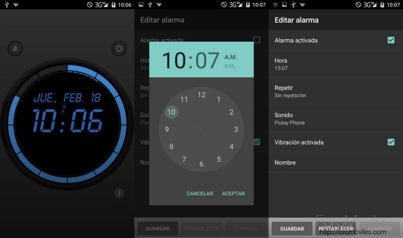 Aplicaciones Despertador Android Wave Alarm