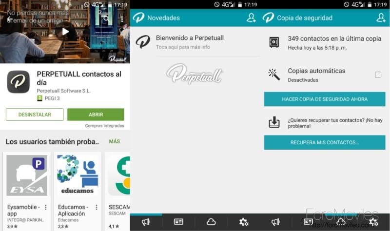 Contactos En Android Perpetuall