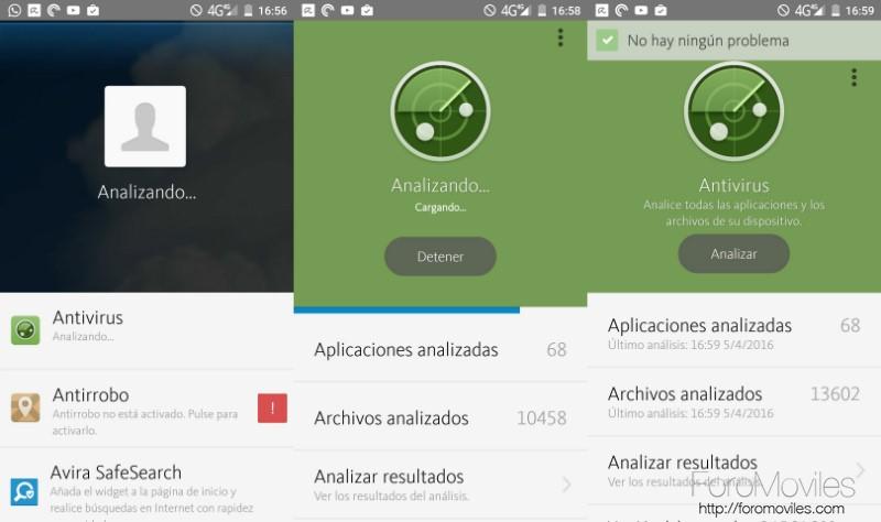 Antivirus Android Avira Análisis