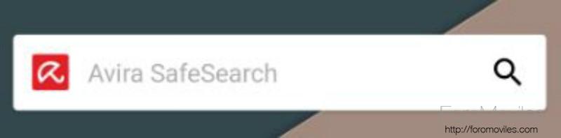 Antivirus Android Avira Widget