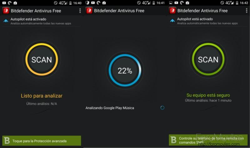 Antivirus Android BitDefender