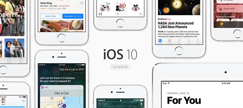 iOS 10: Top 10 novedades