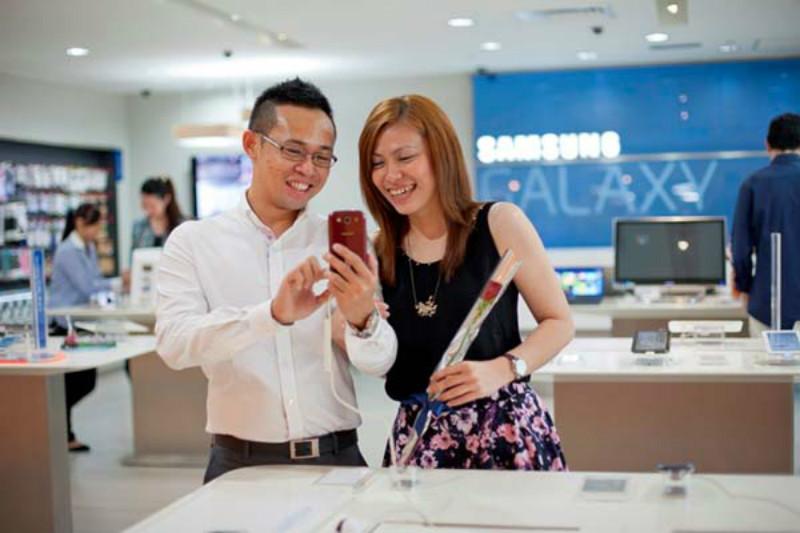 Tienda Física Samsung