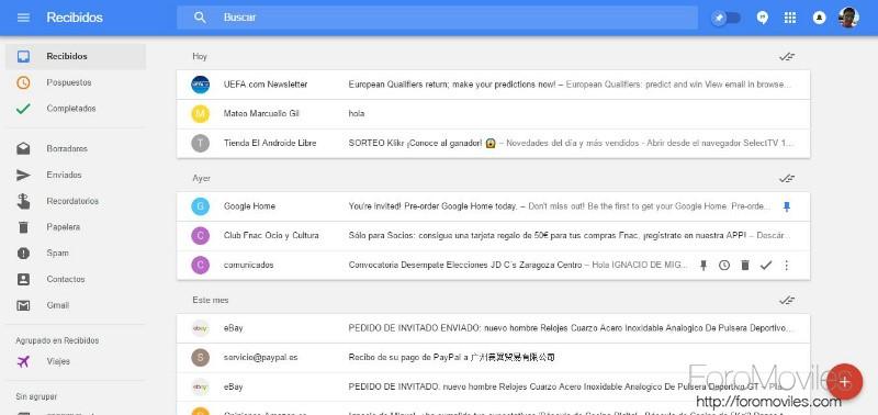 Por qué he pasado de Gmail a Inbox